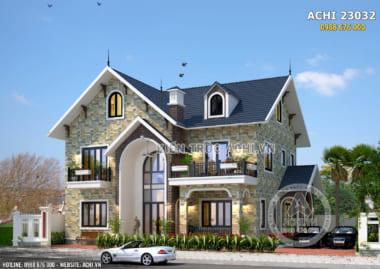 Biệt thự nhà vườn 2 tầng mái Thái đẹp – Mã số: ACHI 23032
