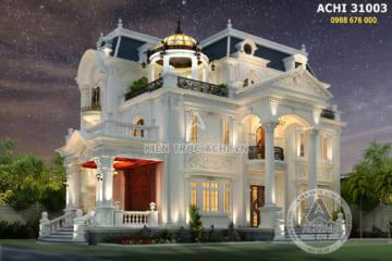 5 mẫu biệt thự 3 tầng kiểu Pháp tân cổ điển sang trọng và đẳng cấp