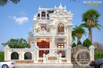 Biệt thự 3 tầng tân cổ điển tại Sơn Tây, Hà Nội – Mã số: ACHI 31215