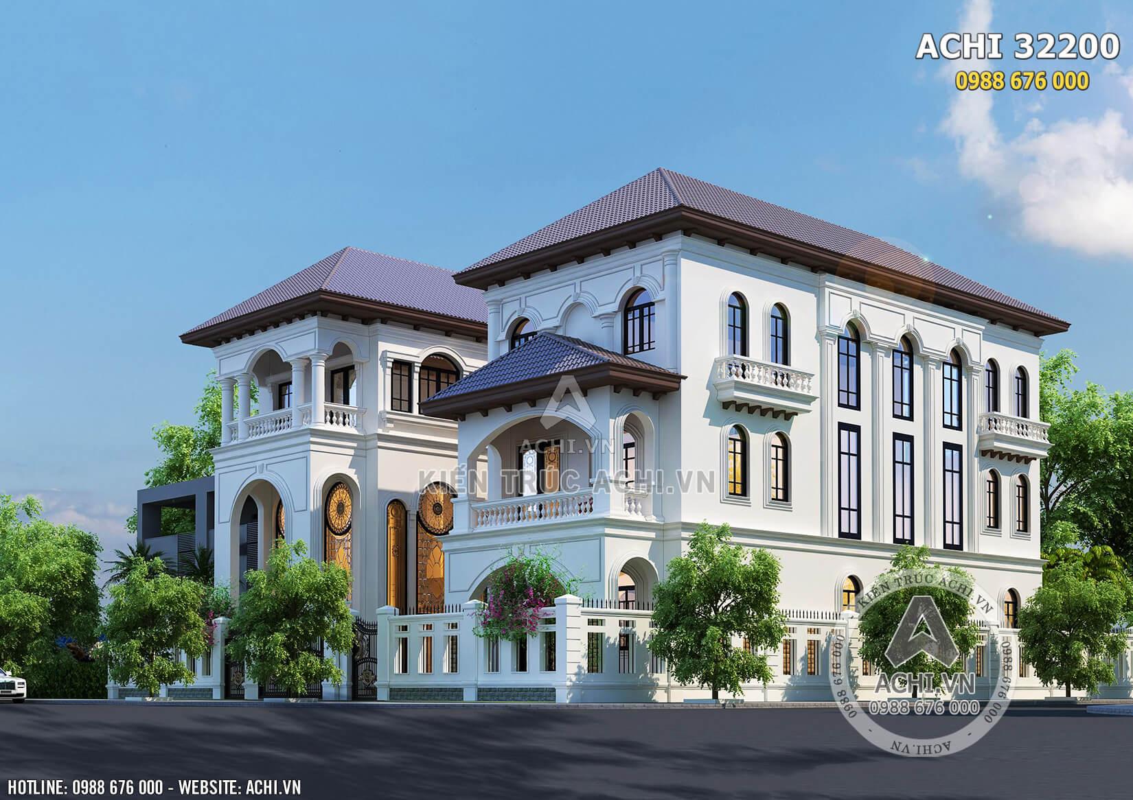 Một góc view mẫu biệt thự song lập đẹp thu hút tại Sài Gòn