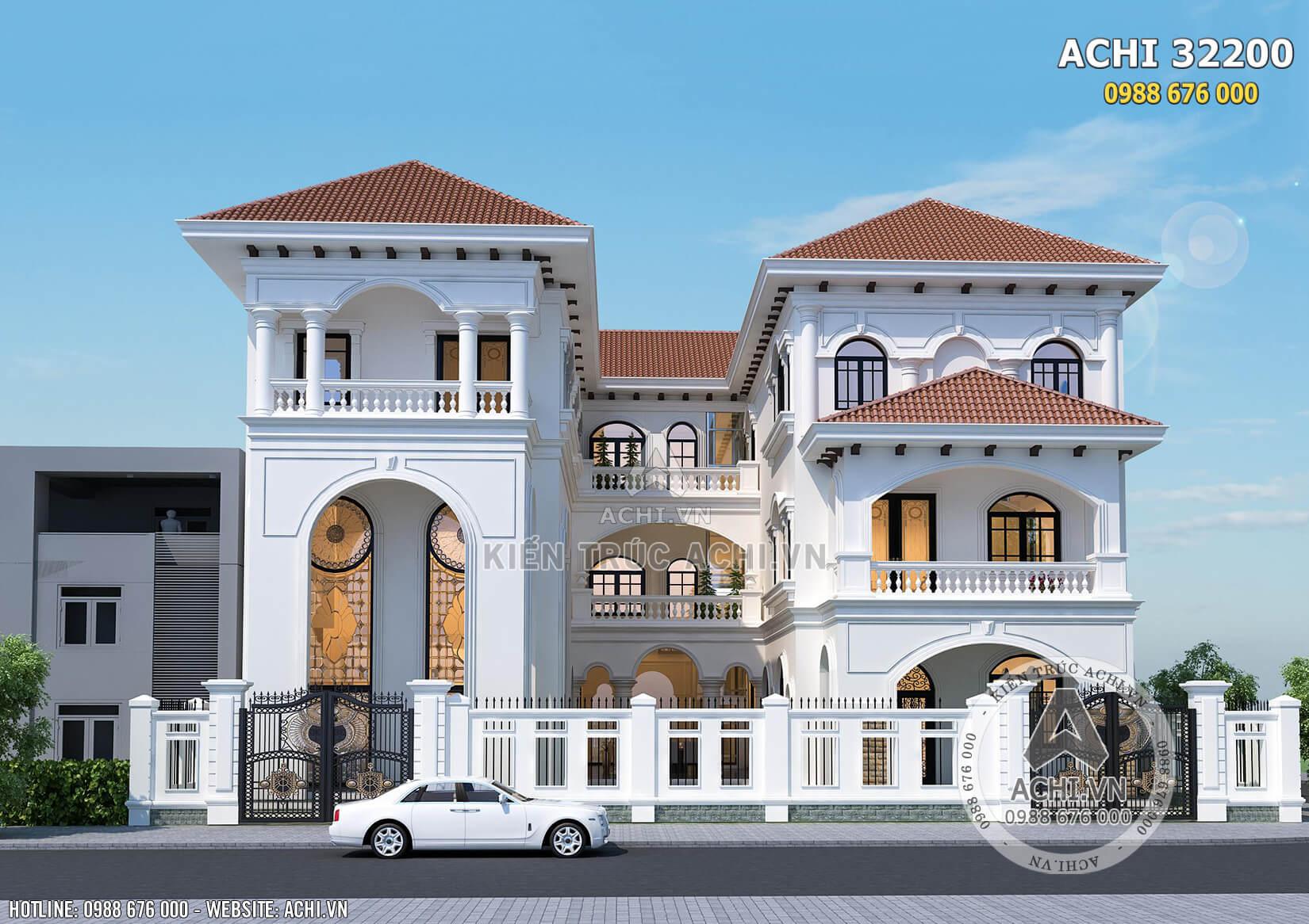 Kiến trúc đẹp độc đáo của mẫu biệt thự song lập tại Sài Gòn