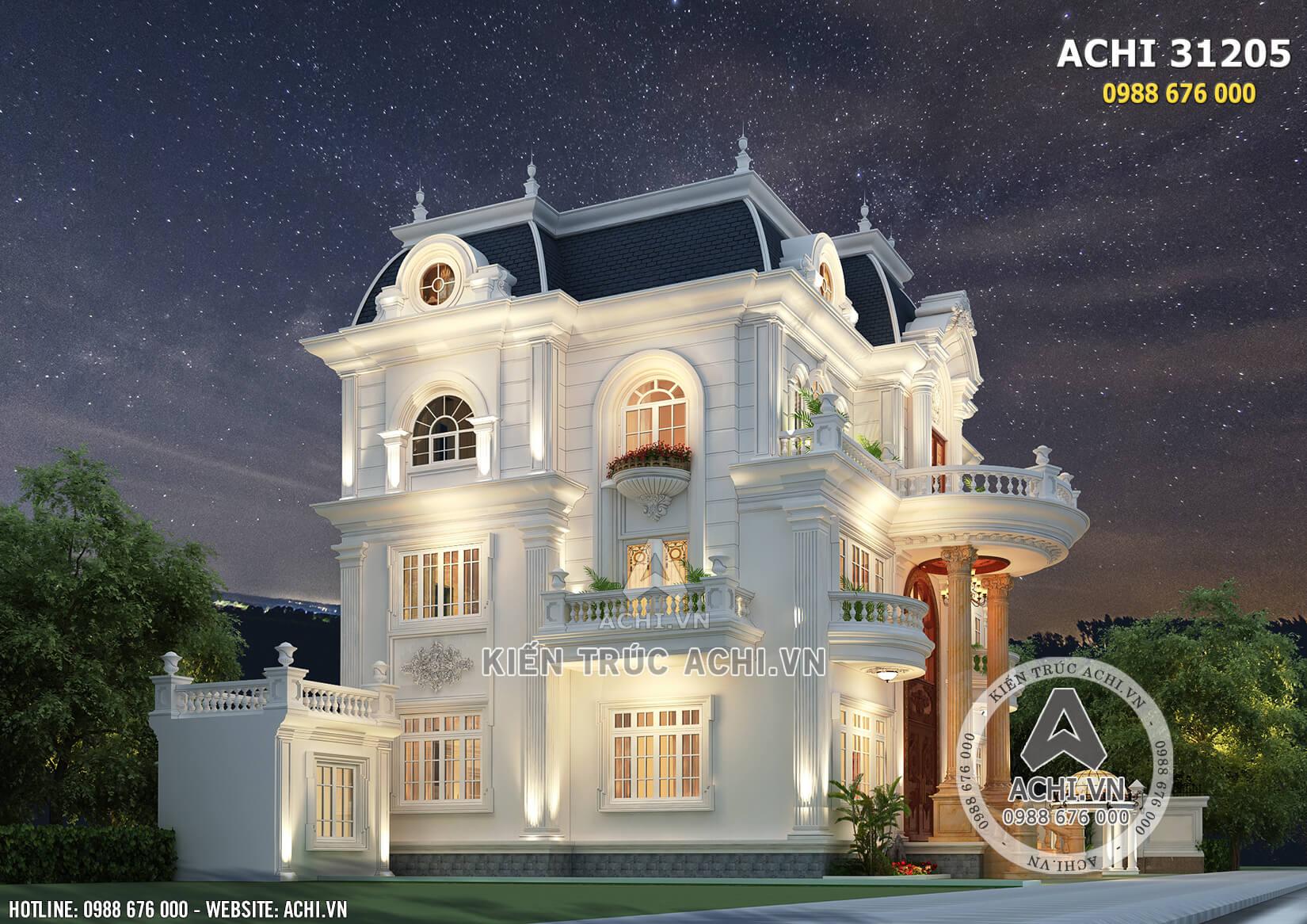 Tone màu trắng giúp ngôi nhà như bừng sáng, thu hút mọi ánh nhìn