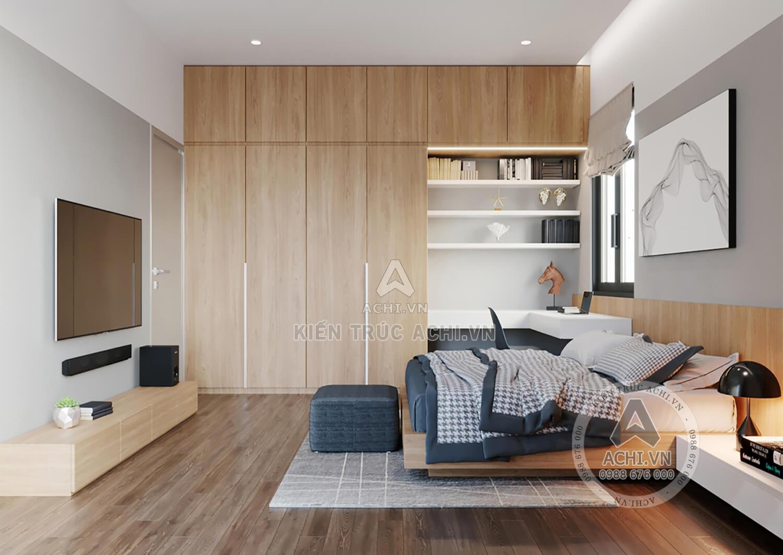 Không gian phòng ngủ hiện đại, thoải mái