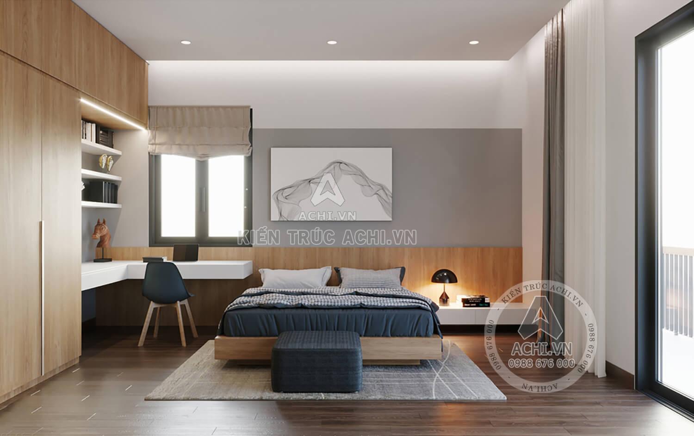 Không gian phòng ngủ hiện đại sang trọng
