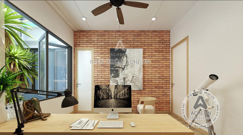 Nội thất phòng làm việc của mẫu nhà hiện đại
