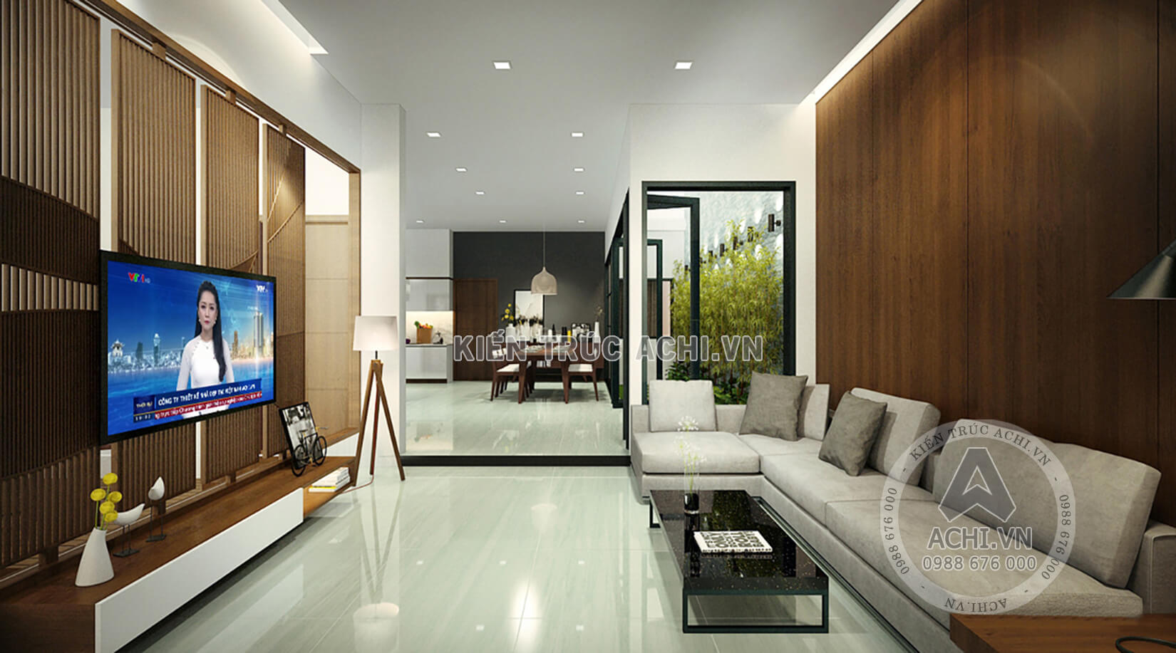 Thiết kế nội thất hiện đại nhà biệt thự đẹp