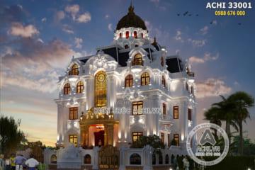Biệt thự tân cổ điển 3 tầng kiến trúc Pháp xa hoa và lộng lẫy- Mã số: ACHI 31009