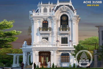 Biệt thự tân cổ điển Pháp 3 tầng đẳng cấp – ACHI 31508