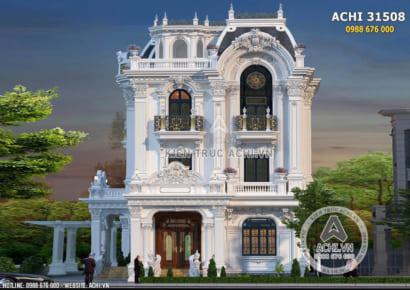 Biệt thự tân cổ điển Pháp 3 tầng đẳng cấp - ACHI 31508