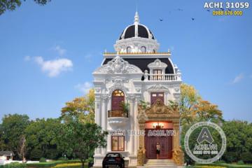 Thiết kế biệt thự tân cổ điển 2 lầu đẹp – Mã số: ACHI 31059