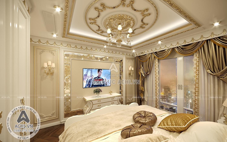 Không gian phòng ngủ sang trọng và cuốn hút