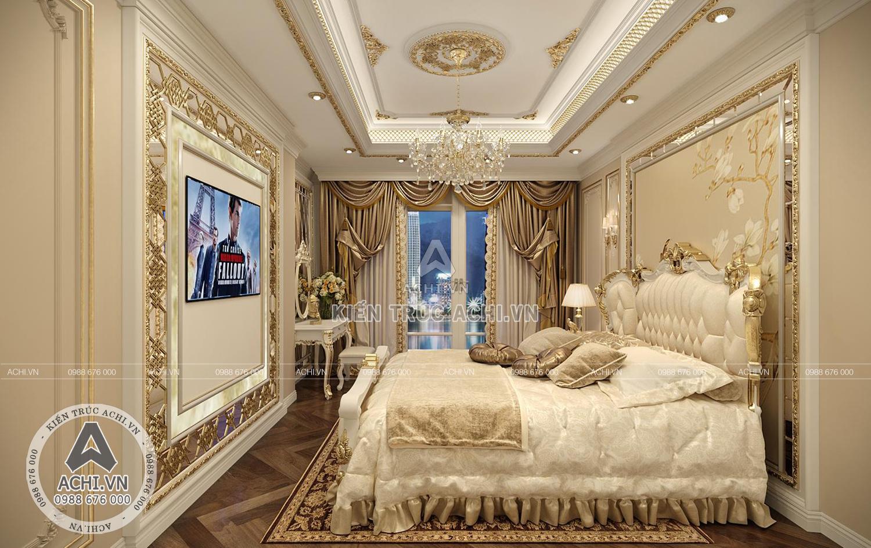 Mẫu nội thất tân cổ điển sang trọng cho phòng ngủ