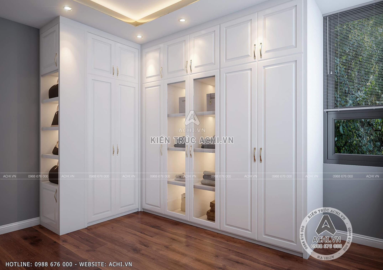 Thiết kế nội thất đẹp phòng thay đồ và tủ đồ