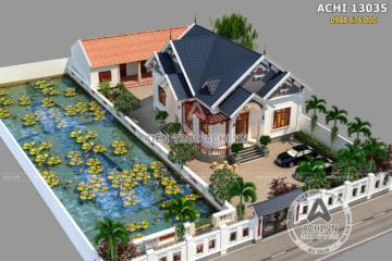 9 mẫu thiết kế nhà cấp 4 hiện đại mái thái đẹp giá rẻ