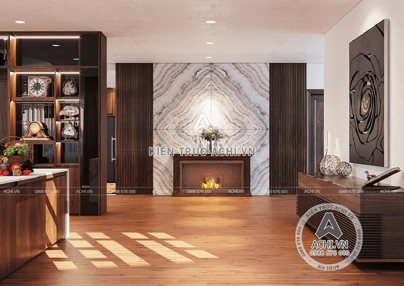 Không gian nội thất đẹp, áp áp và tiện nghi