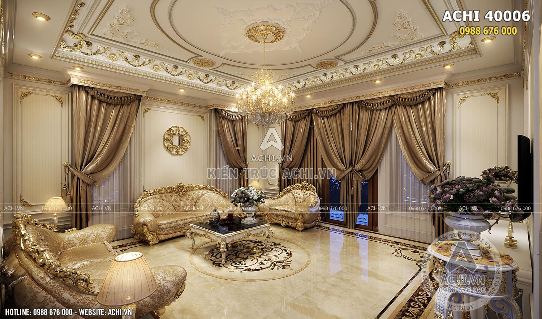 Thiết kế nội thất tân cổ điển đẹp đẳng cấp - ACHI 40006