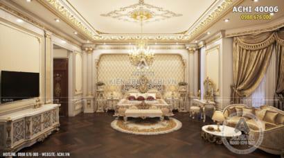 Nội thất tân cổ điển đẹp cho không gian phòng ngủ