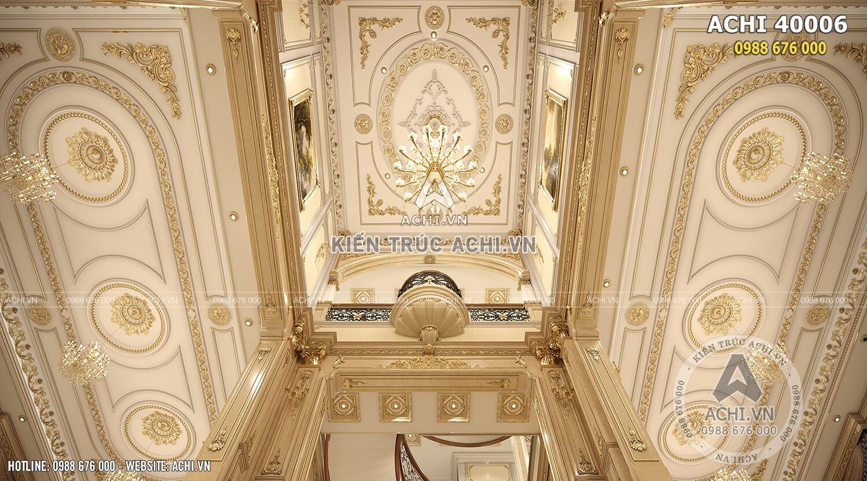Nội thất tân cổ điển đẹp cho khu vực thông tầng