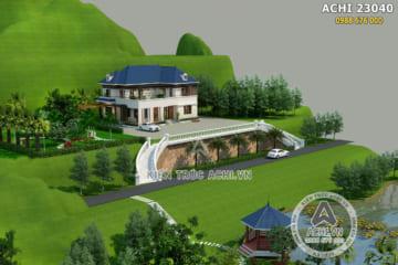 Biệt thự vườn 2 tầng đẹp trên đồi tại Phú Thọ – ACHI 23040