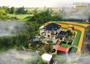 Tổng hợp các mẫu thiết kế biệt thự vườn 2 tầng với không gian mở