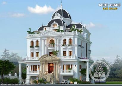 Từng đường nét kiến trúc của ngôi biệt thự 3 tầng được thiết kế tinh tế