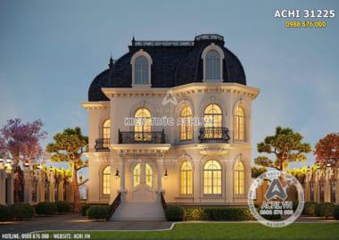 TOP 5 mẫu biệt thự 2 tầng tân cổ điển kiểu Pháp HOT nhất 2022
