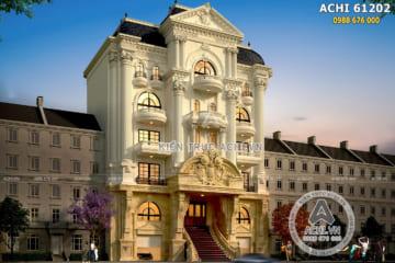 Thiết kế nhà ở kết hợp kinh doanh mặt tiền 15m tân cổ điển – Mã số: ACHI 61202
