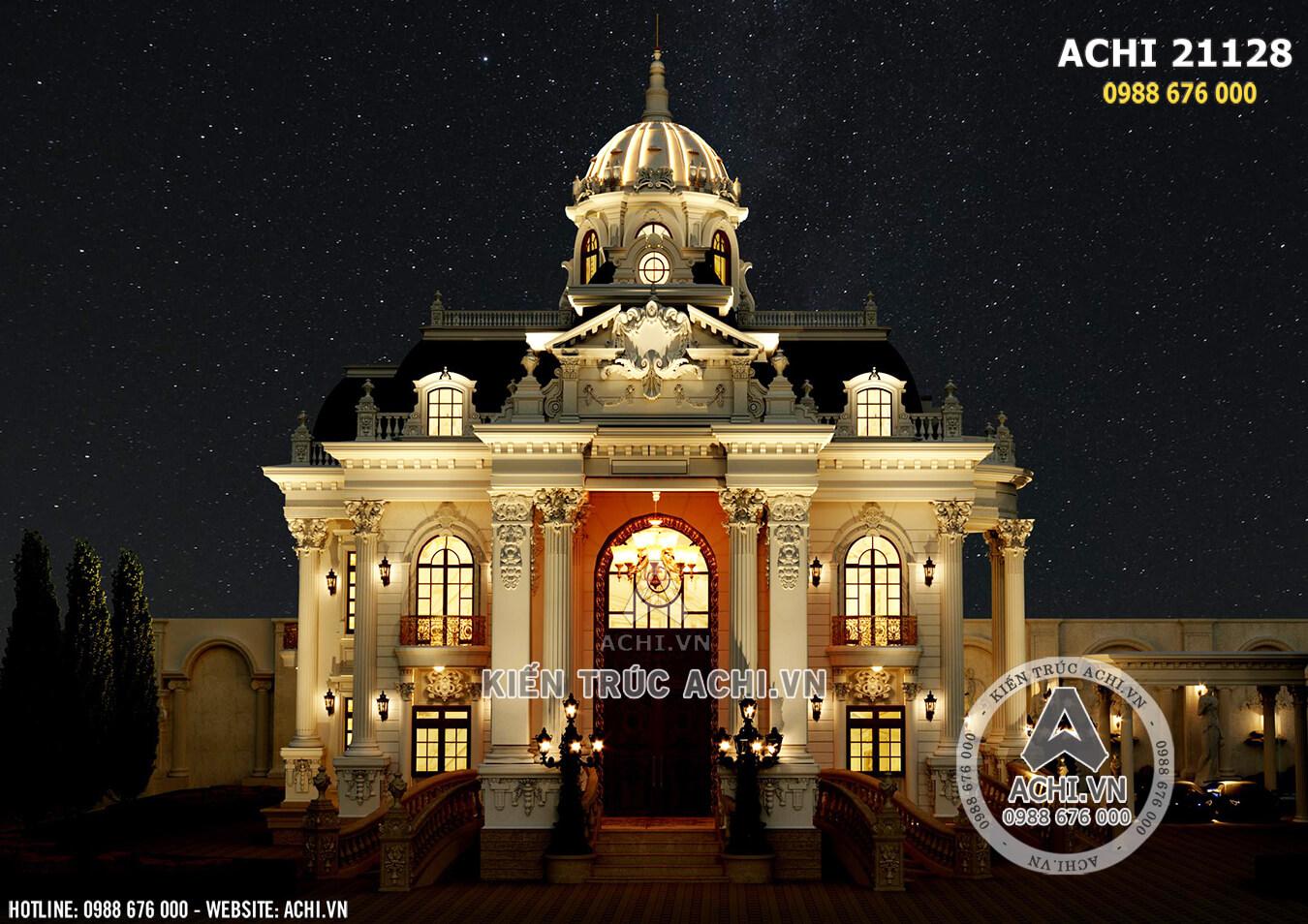 Tòa dinh thự sang trọng và đẳng cấp với kiến trúc tân cổ điển