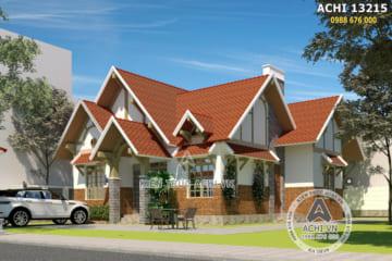 Thiết kế nhà cấp 4 đẹp 1 tầng tại Đà Lạt – ACHI 13215