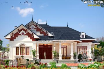 Mẫu thiết kế nhà vườn đẹp 1 tầng lầu – Mã số: ACHI 13230