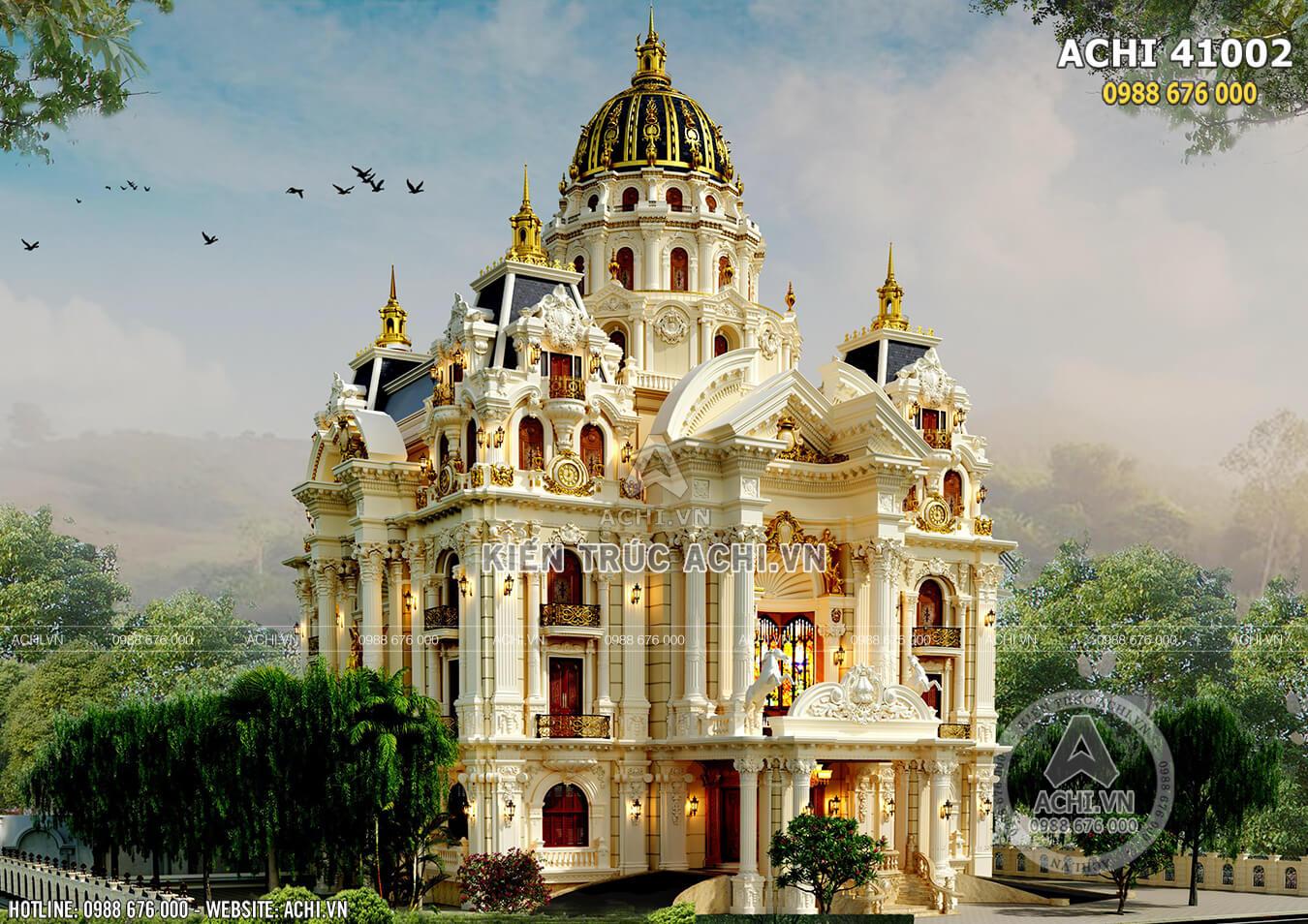 Dinh thự lâu đài tân cổ điển sang trọng, đẳng cấp