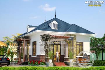 Mẫu nhà 1 tầng cấp 4 mái thái đơn giản 700 triệu đẹp sang trọng – ACHI 15205