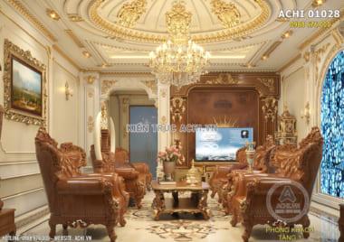 Công ty thiết kế nội thất tân cổ điển đẹp đẳng cấp – ACHI 01028