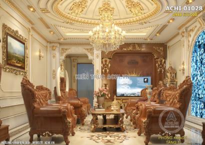 Công ty thiết kế nội thất tân cổ điển đẹp đẳng cấp - ACHI 01028