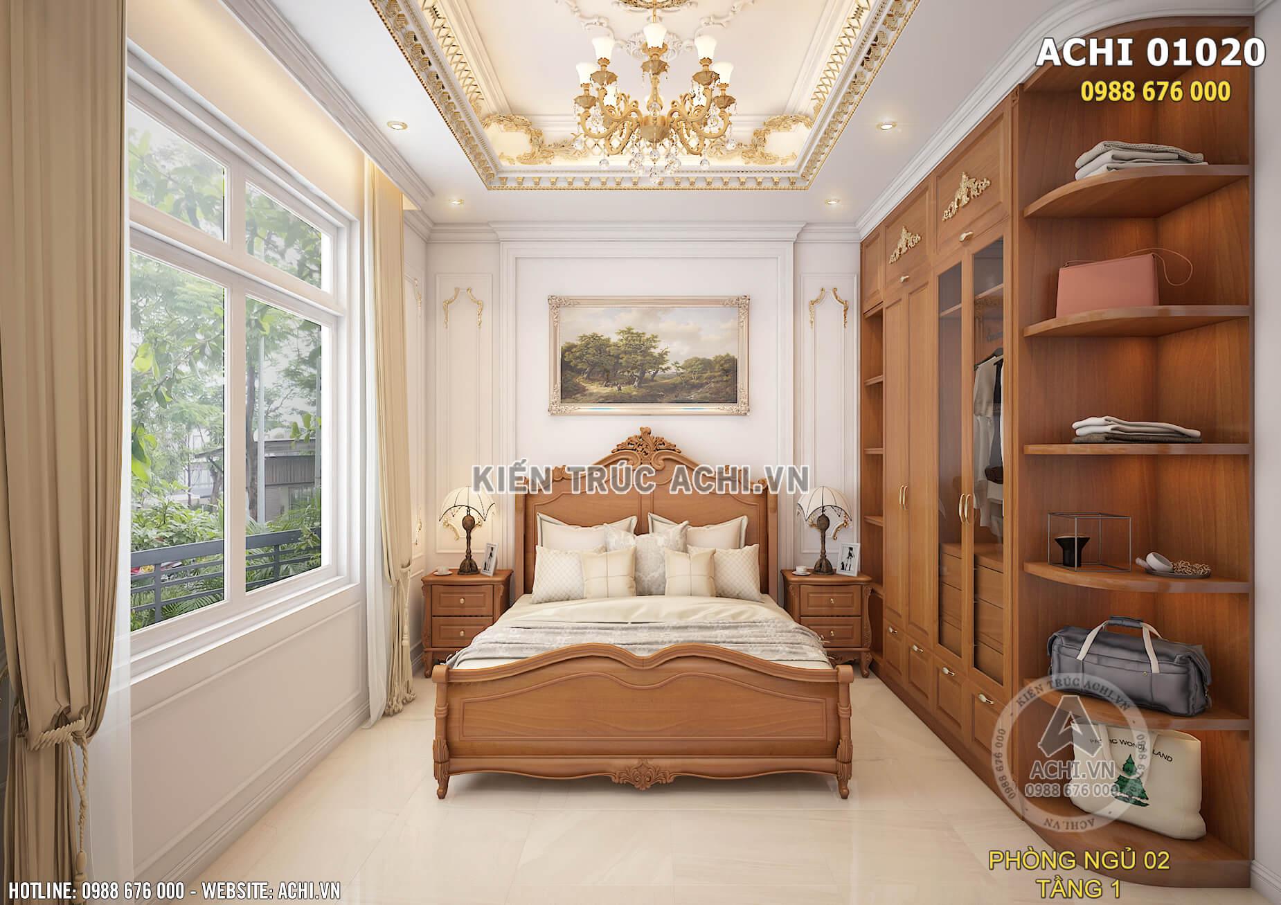 Thiết kế nội thất phòng ngủ độc đáo và ấn tượng