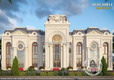 Mẫu thiết kế dinh thự 2 tầng đẹp đẳng cấp ở Dubai – ACHI 50011