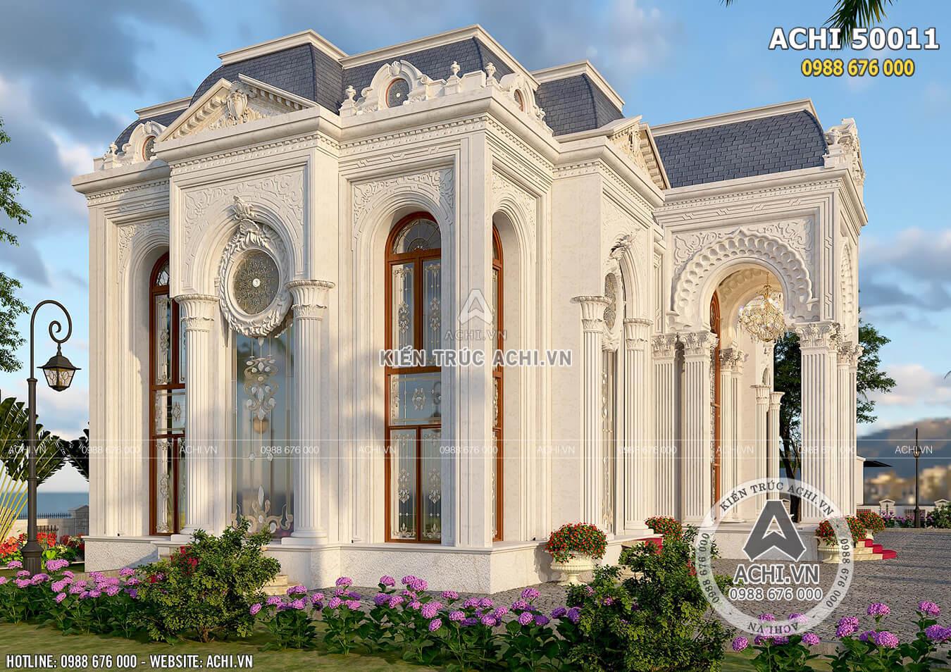Một góc view của mẫu dinh thự 2 tầng đẹp tại Dubai