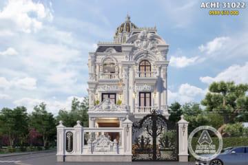 Biệt thự tân cổ điển 3 tầng mặt tiền 10m đẹp tại Long An – ACHI 31022