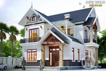 Mẫu nhà 2 tầng mái thái đẹp tại Sông Lô, Phú Thọ – ACHI 25216