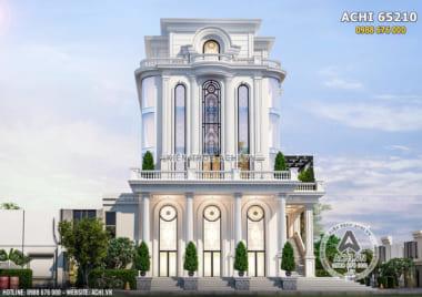 Thiết kế khách sạn nhà hàng trung tâm tiệc cưới đẹp tại Thanh Hóa – ACHI 65210