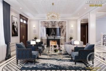 Thiết kế nội thất tân cổ điển nhẹ nhàng phong cách Caracole – ACHI 01030
