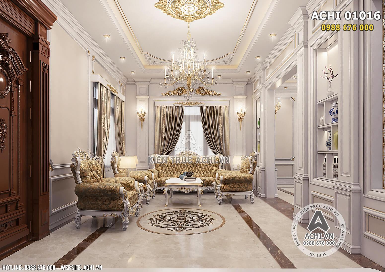 Hình ảnh: Bộ sofa cho không gian phòng khách - ACHI 01016