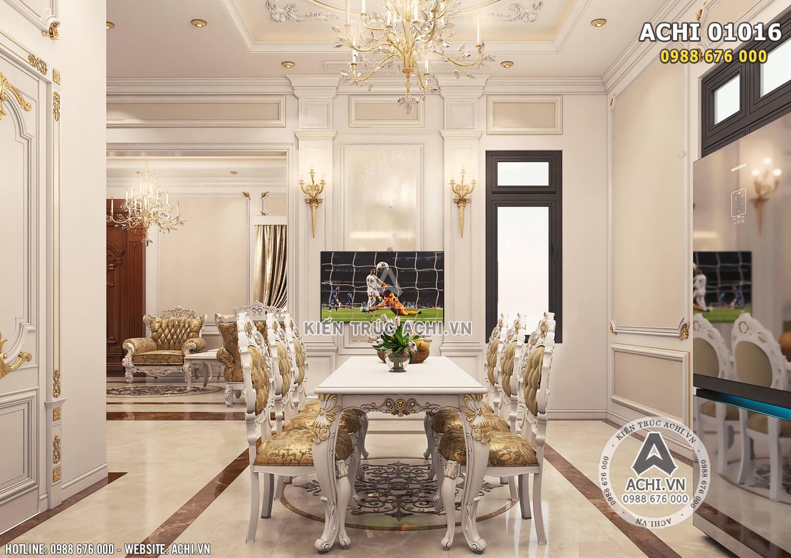 Hình ảnh: Không gian phòng bếp - ACHI 01016