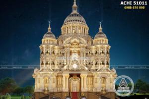 Kiến trúc đỉnh cao trong thiết kế dinh thự lâu đài 1000 tỷ đẹp nhất Việt Nam – ACHI 51011