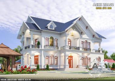 Biệt thự nhà vườn mái Thái 2 tầng đẹp nhất năm 2021 – ACHI 22102