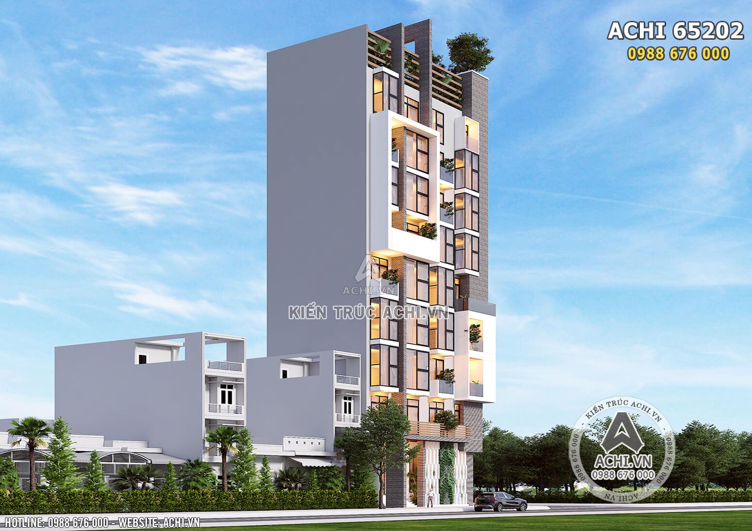 Thiết kế chung cư mini tại Lạng Sơn - Mã số: ACHI 65202