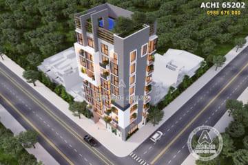Thiết kế chung cư mini tại Lạng Sơn – Mã số: ACHI 65202