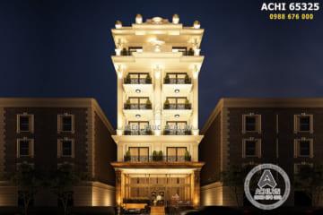 Thiết kế chung cư mini đẹp tân cổ điển tại Bắc Ninh – ACHI 65325