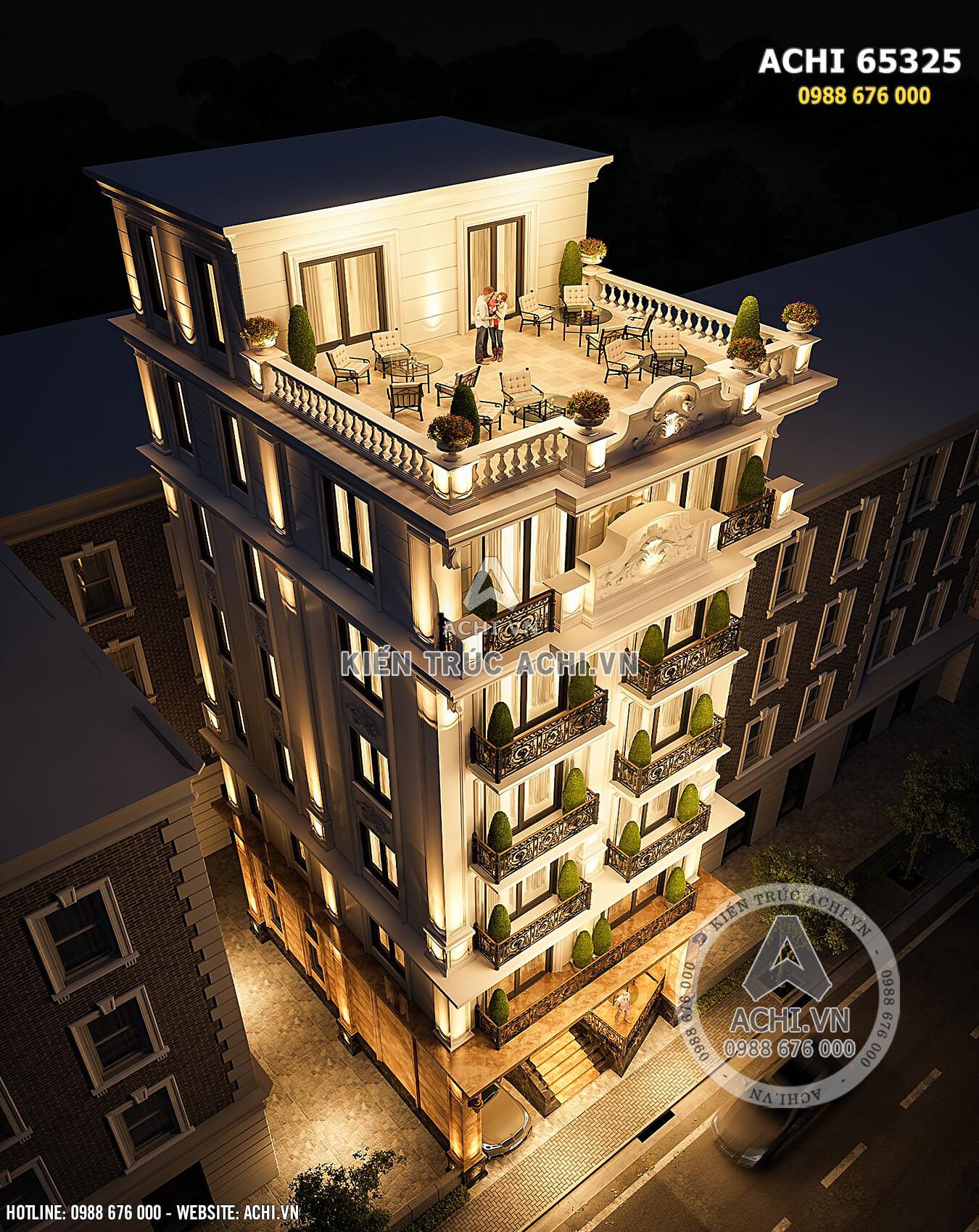 Hình ảnh: Góc nhìn từ trên xuống của ý tưởng thiết kế chung cư mini