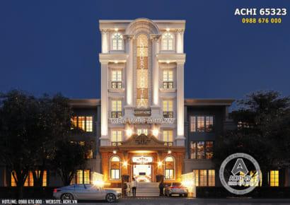 Hình ảnh: Thiết kế khách sạn mini mặt tiền 10m - ACHI 65323